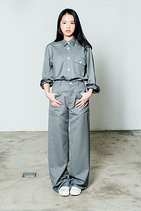SUPERFINE WOOL MOHAIR PANTS 山羊毛褲