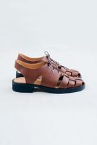 Wicker手工編織涼鞋