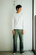 SEAMLESS L/S TEE 素面長袖T-shirt