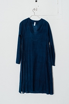 aleppo tunic w / handstitching 七分袖洋裝