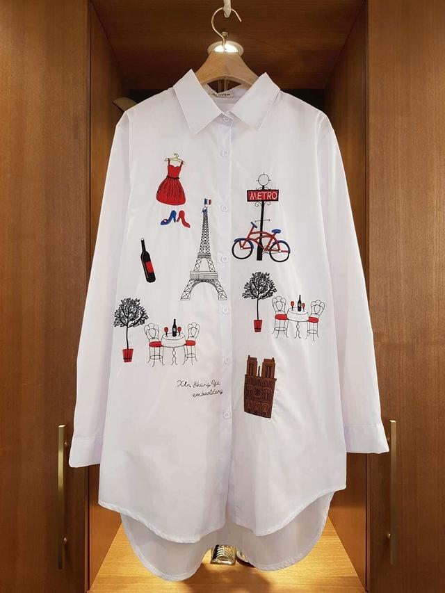 912056 Miss Paris 大襯衫 - 兩色