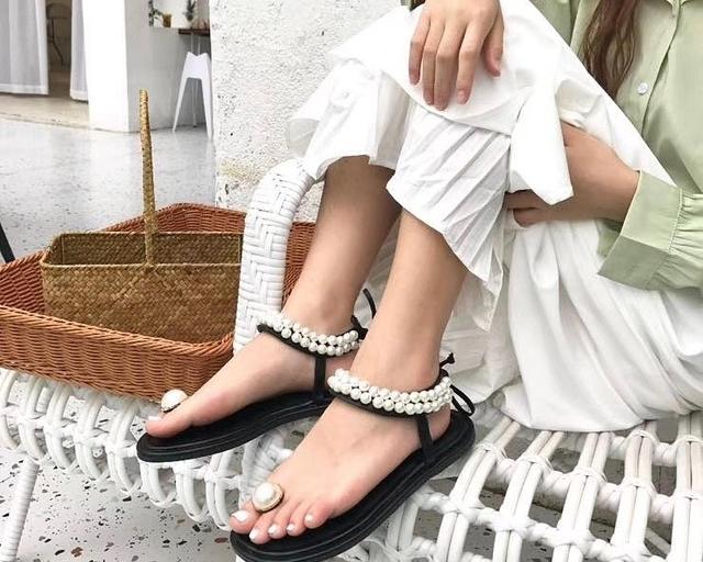 915509 珍珠美人魚涼拖鞋 - 廠商出錯