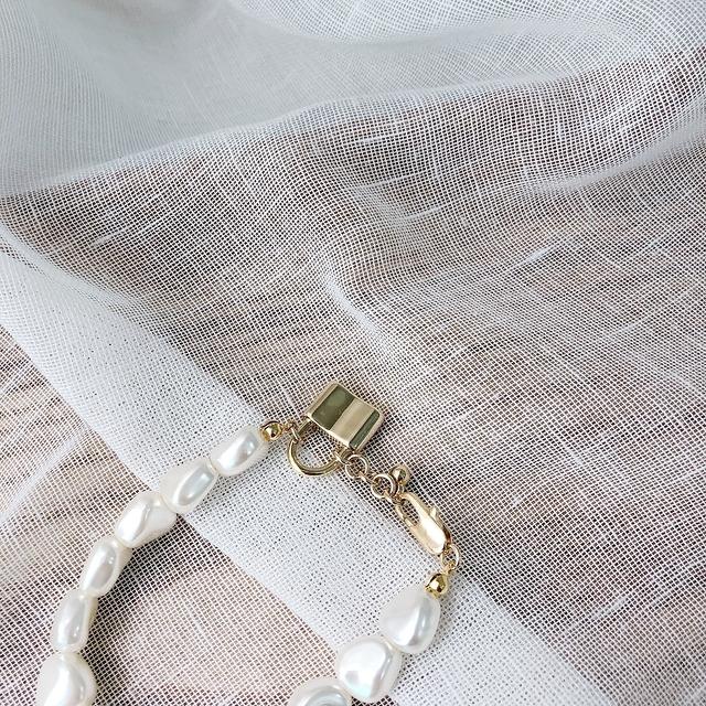 916144 珍珠手環 - 兩色