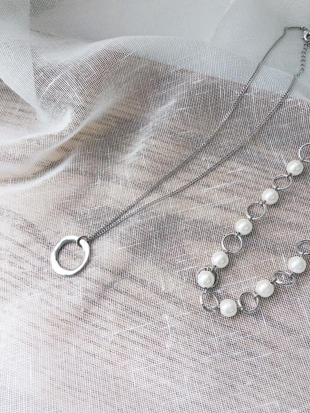 916141 環狀珍珠項鍊