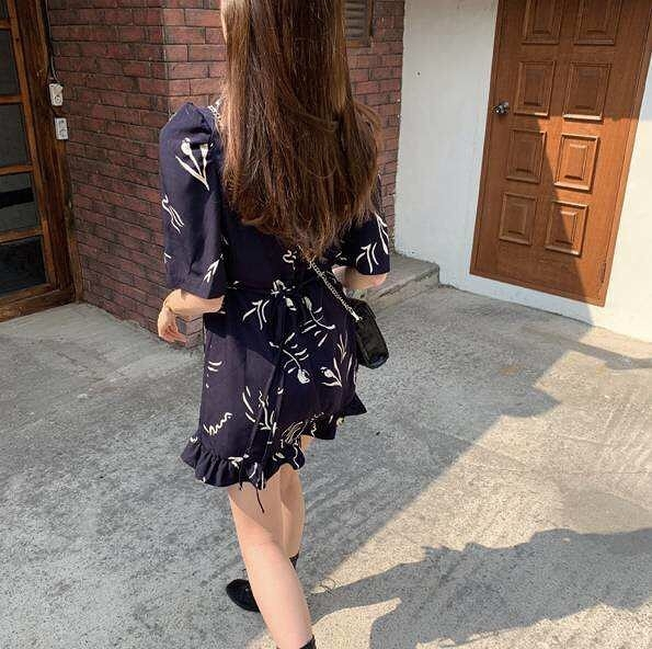 913507 清新小洋裝-兩色