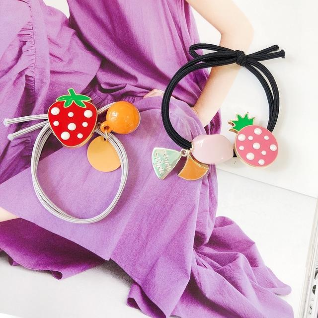 916170 草莓妹妹髮束 -兩款