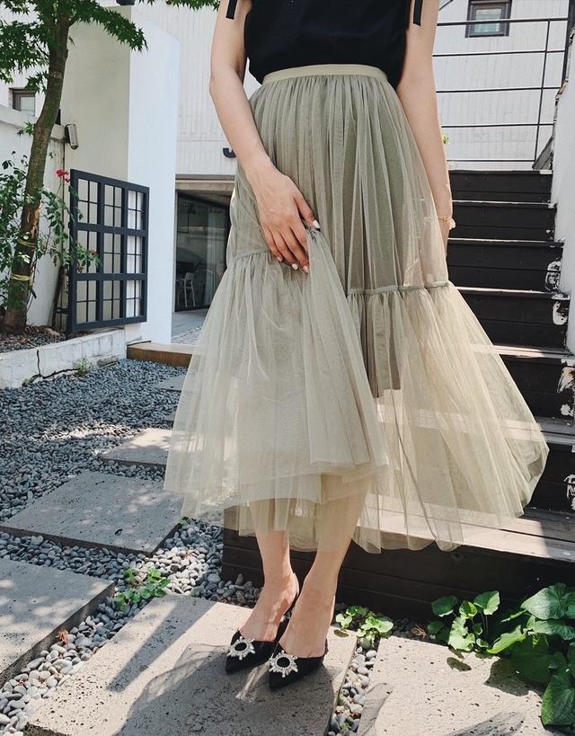916023 小公主浪漫紗裙 - 兩色