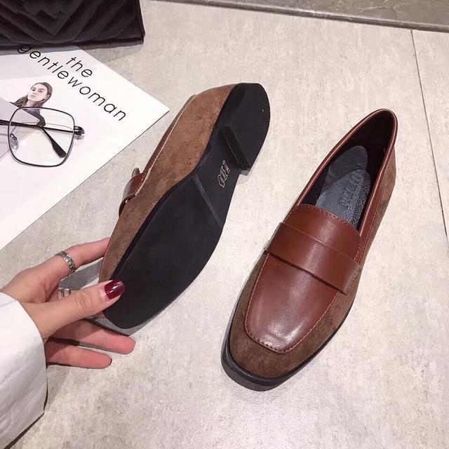 912002 小紳士拼接樂福鞋 - 兩色