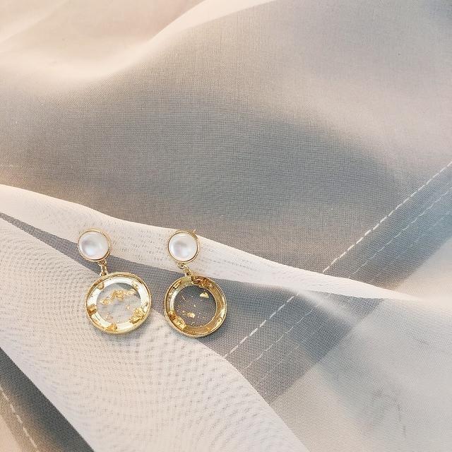927207 精緻金箔耳環