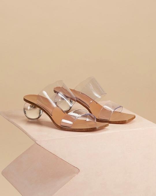 916099 透明水晶涼拖鞋 (尺寸35-40 )