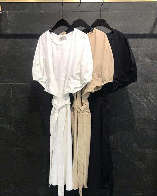 918018 設計感簡單口袋洋 - 三色