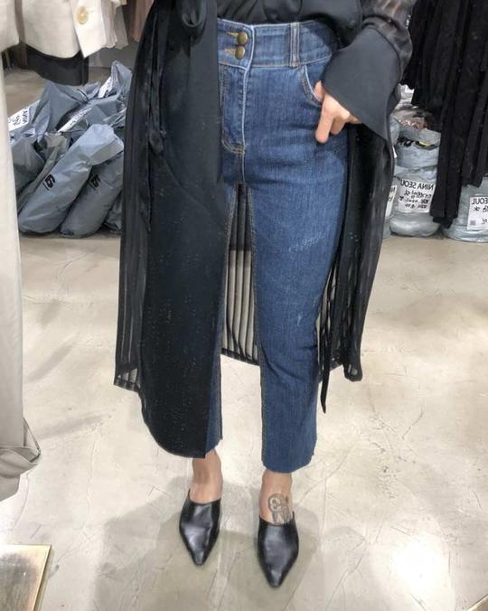 918027 超顯瘦牛仔褲(腰鬆緊)