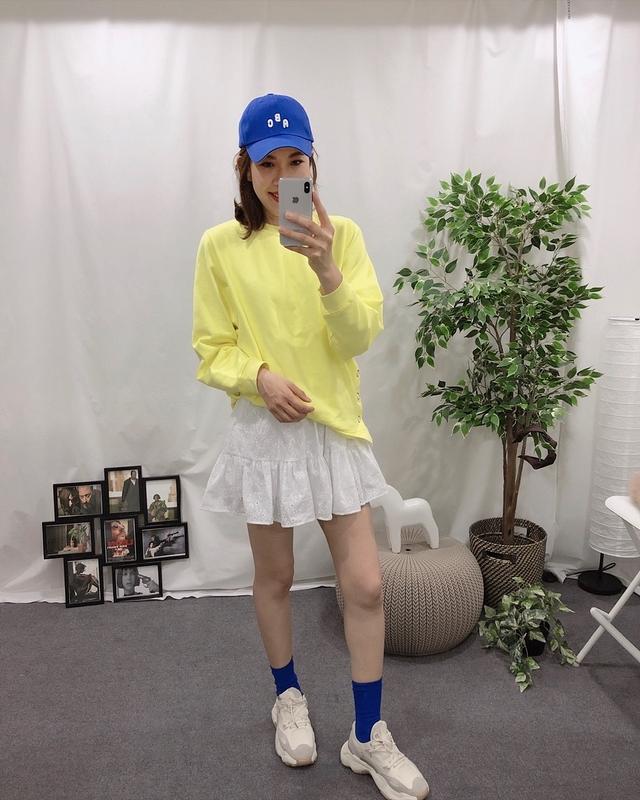 913076 甜美細緻雕花短裙(內裡短褲設計) - 兩色