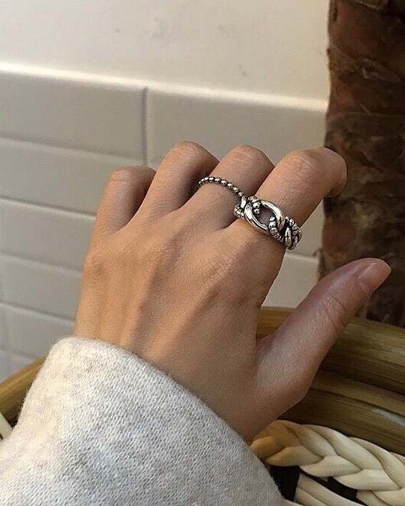 912019 個性環狀可調式戒指
