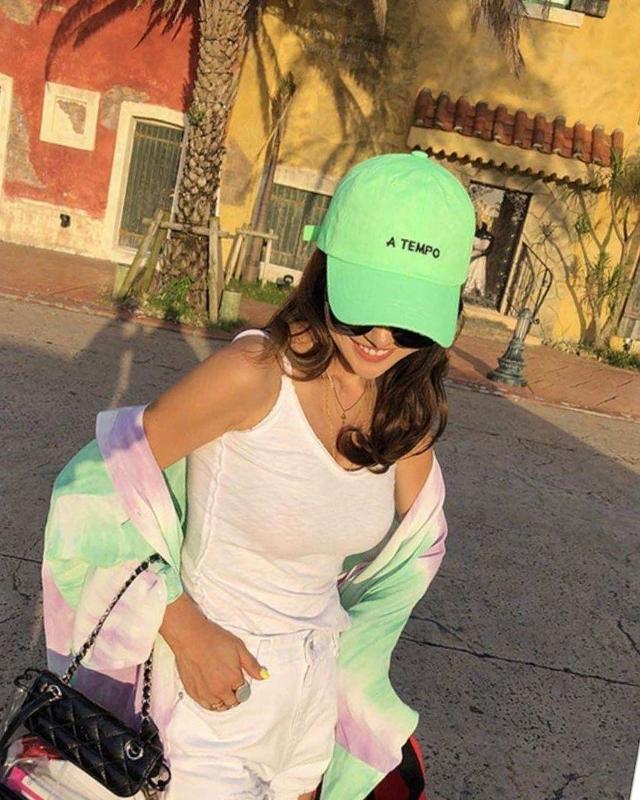 717030 TEMPO棒球帽 - 螢光綠