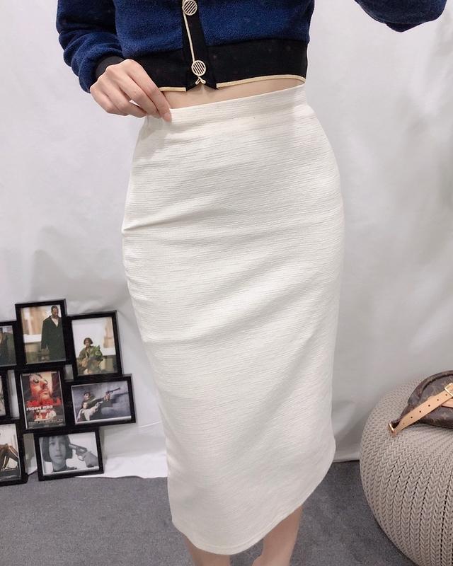 913042 小香感長窄裙(腰彈性) - 兩色