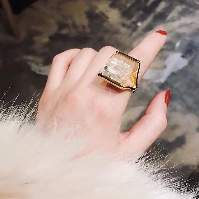 912035 歐美誇張戒指手環組