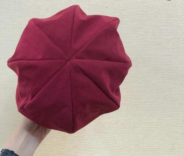 918009 個性八角蓓蕾帽 - 五色