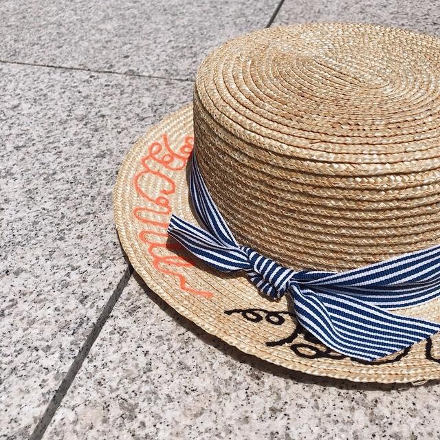 817082 條紋造型編織帽