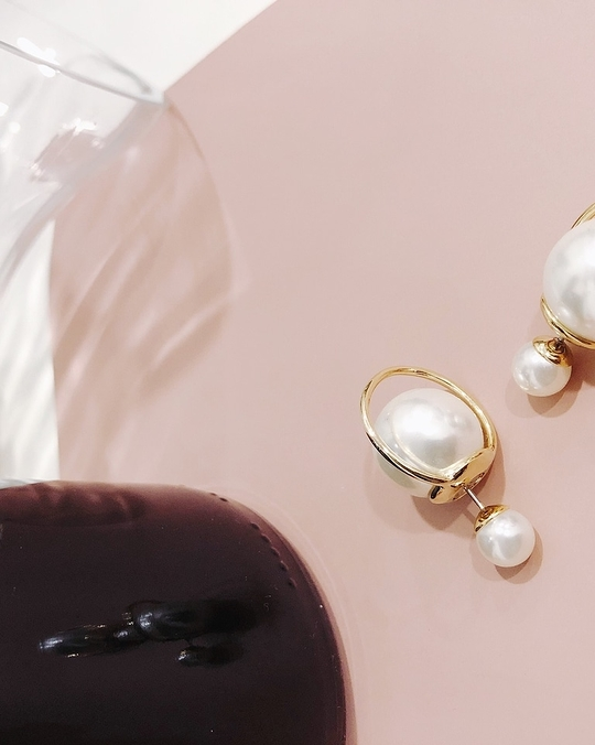 914156 珍珠星球耳環